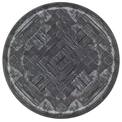 Souplast Plástico Decorado Cinza