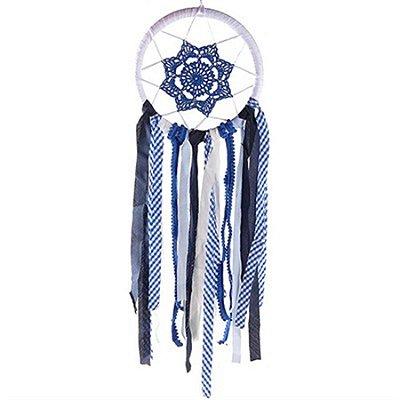 Filtro dos Sonhos Importa para Decoração 66 cm - Azul Escuro