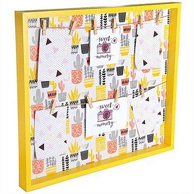 Porta-Retrato com Varal - Happy Look - 47 x 41 cm