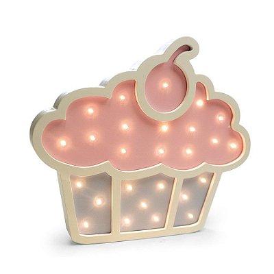 Led De Madeira Cupcake C/1 Un