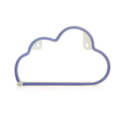 Silhueta De Led Nuvem Azul 29,5X2X18,5 C/1 Un