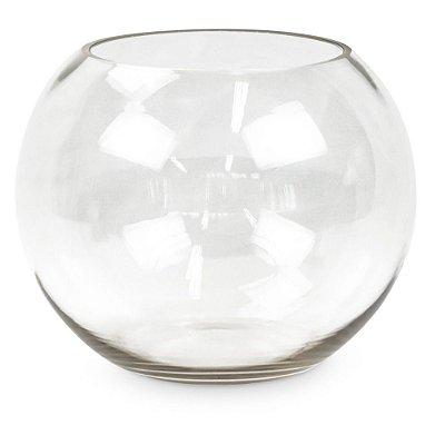 Aquário de Vidro Transparente M