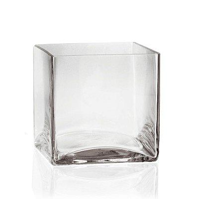 Vaso de Vidro Transparente P