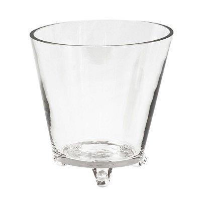 Vaso de Vidro Cônico M