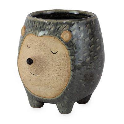 Vasinho de Cerâmica com Porco Espinho M