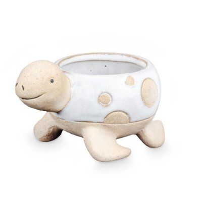 Vasinho de Cerâmica com Tartaruga P