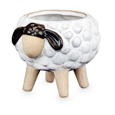 Vasinho de Cerâmica com Ovelha M