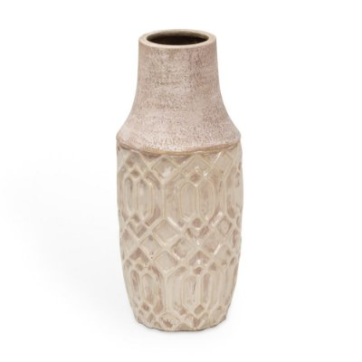 Vaso de Cerâmica Trabalhado