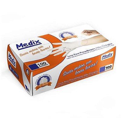 Luvas Descartáveis Latéx Medix