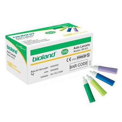 Auto Lanceta 28 G caixa com 100 unidades Bioland