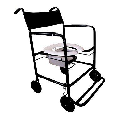 Cadeira de Banho Max Obeso com Coletor CHM301 Dune