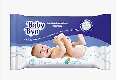 Toalha Umedecida Baby Byn