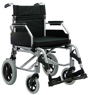 Cadeira de Rodas Praxis Série Europa Barcelona Preta