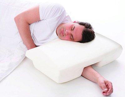 Travesseiro do Silêncio Anti Ronco Perfetto Branco