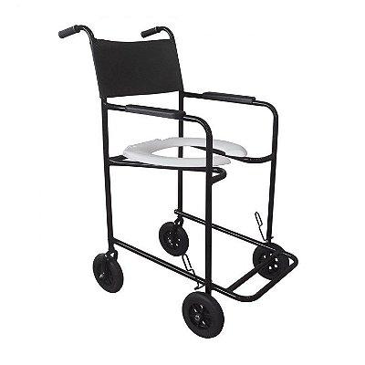 Cadeira de Banho Higiênica CH100 Dune Preta