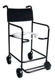 Cadeira de Banho Higiênica CH101 Dune Preta