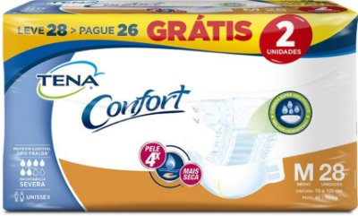 Fralda Comfort Tena