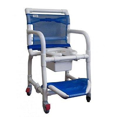 Cadeira de Banho PVC Carci Azul