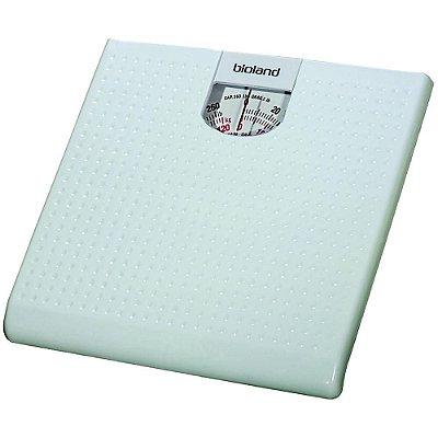 Balança Mecânica 120 kg Branca Bioland