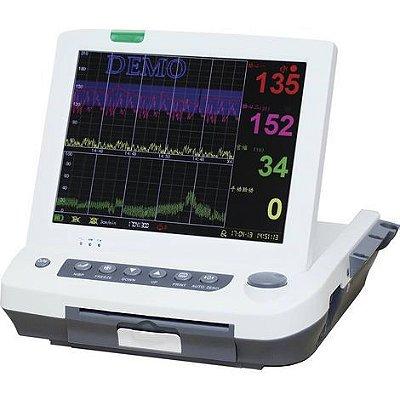 """Monitor Fetal Cardiotocografo Tela 12"""" com Impressora e Monitoramento Gemelar MF9200 Medpej"""