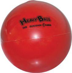 Bola de Fisioterapia para Atividades Físicas de Resistência 1kg Carci