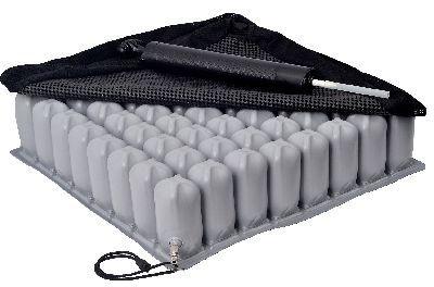 Almofada com Comprimento Personalizado Inflável com Capa Aries Altura 8cm Praxis