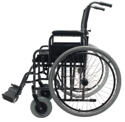 Cadeira de Rodas Dobrável D400 Com 44cm de Assento Dellamed