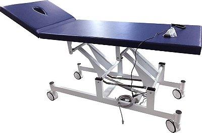 Mesa Divã Motorizada com Cabeceira para Atendimento Clínico Carci