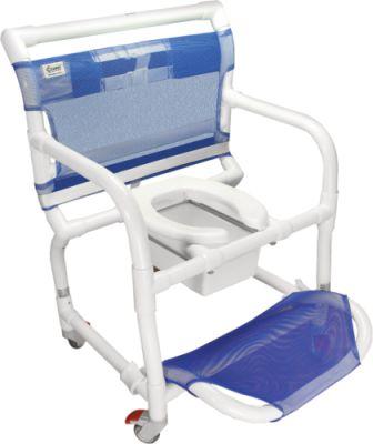 Cadeira de Banho Higiência de PVC Carcilife para Obeso 150 Kg Carci