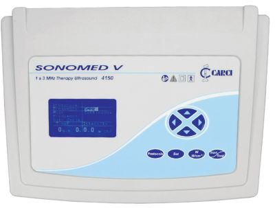 Ultrasson para Fisioterapia Sonomed V com Multifrequência Carci