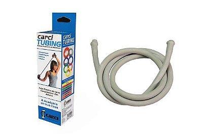 Carci Tubing Tubos Elásticos para Alongamento e Exercícios Prata Carci