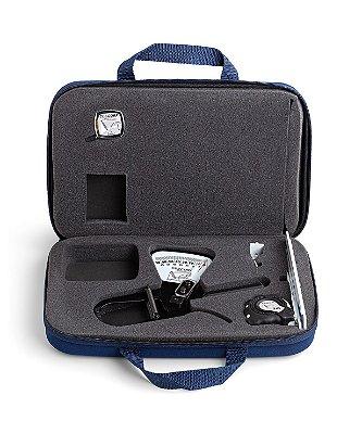 Kit Compacto para Personal Trainer com Adipômetro Trena e Maleta para Transporte Cescorf