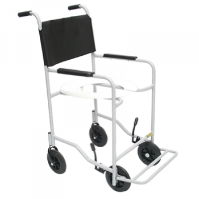 Cadeira de Banho para Idosos ou Enfermos com Braços Fixos e Pés Escamoteáveis CDS