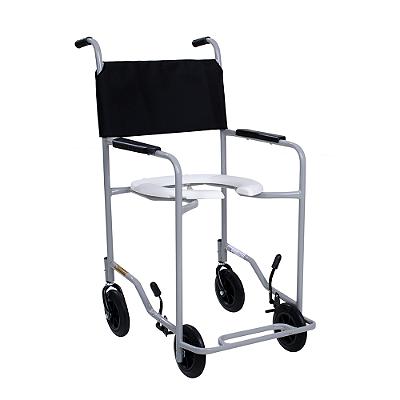 Cadeira de Banho Simples para Idosos ou Enfermos com Braços e Pés Fixos CDS
