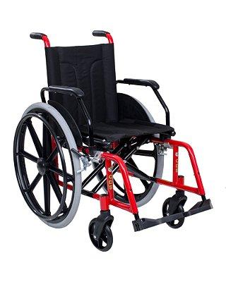 Cadeira de Rodas Comfort com Pneus Infláveis Almofadada e Braços Escamoteáveis CDS
