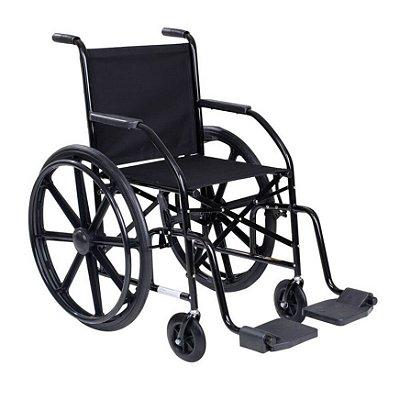 Cadeira de Rodas Simples com Pneus Maciços e Roda em Nylon 101 CDS