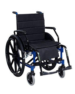 Cadeira de Rodas Obeso com Braços Escamoteáveis e Pés Removíveis 100kg 101 CDS