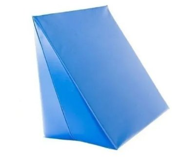 Encosto Triângulo Com Capa Pop Perfetto Azul