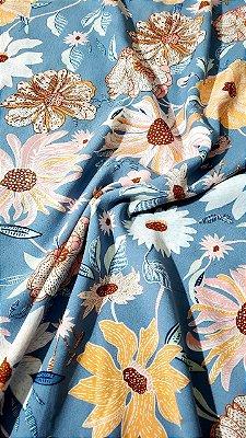Coleção Delicate Floral cortes de 1,50 metro