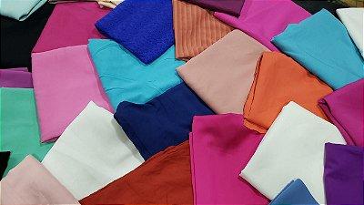 2 kits de 3 kg tecidos planos  cortes acima de 0.60 cm +3 palas aplicação de BRINDE