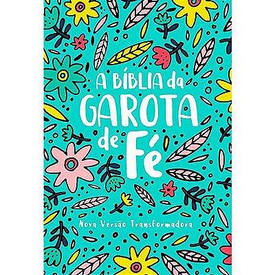 A BÍBLIA DA GAROTA DE FÉ - VERDE AGUA FLORIDA