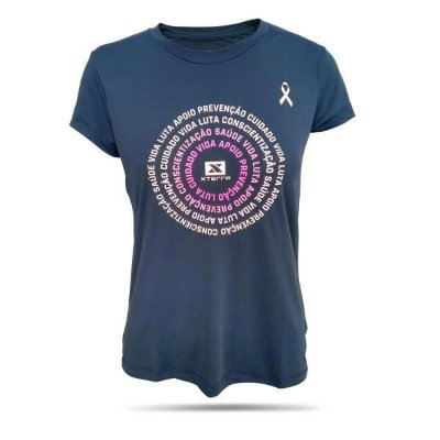 Camiseta Feminina Xterra Dry Outubro Rosa