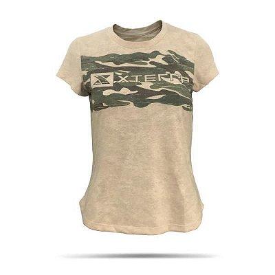 Camiseta Feminina XTERRA Mask Bege