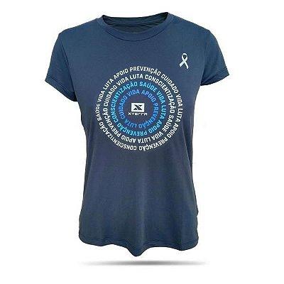Camiseta Feminina X-DRY XTERRA Novembro Azul