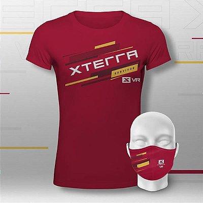 XTERRA VRCLUB Kit Basic Feminino Vermelho