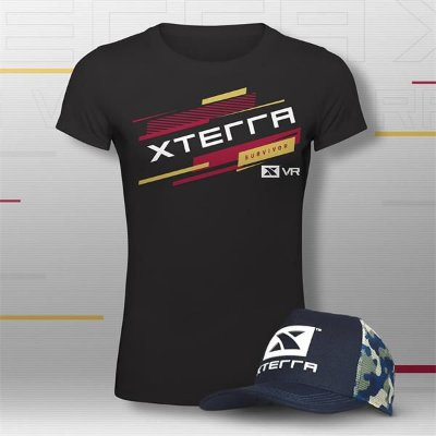 XTERRA VRCLUB Kit Top Feminino Preto
