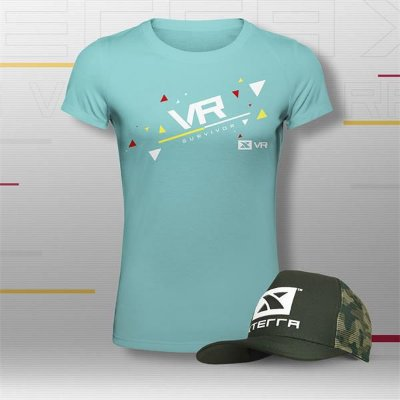 Kit Top Feminino Xterra VR Club