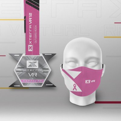 Kit Finisher Xterra VR Outubro Rosa