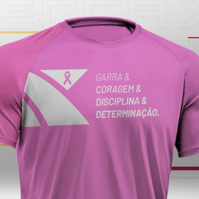 Camiseta Masculina Xterra VR Outubro Rosa