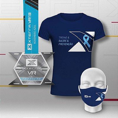Xterra VR Novembro Azul Kit Premium Feminino
